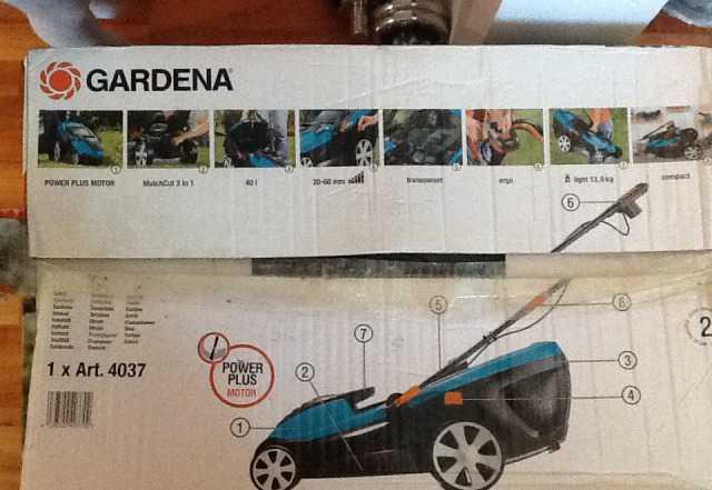 Газонокосилка Gardena 36E 1500