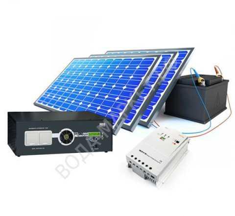 Солнечная батарея эковольт