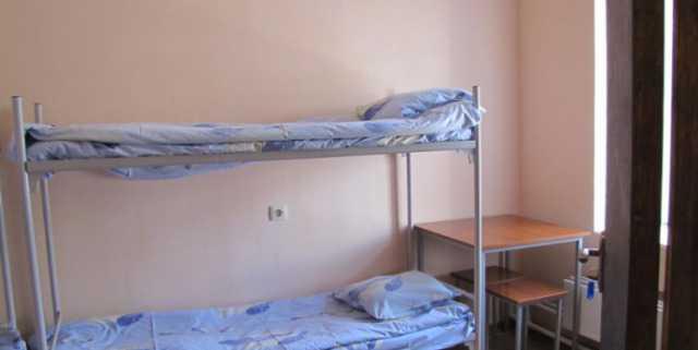 Кровати двухъярусные для рабочих