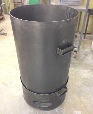Бак для сжигания мусора