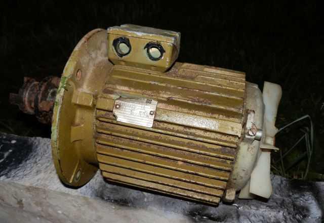 Двигатель 3х фазный