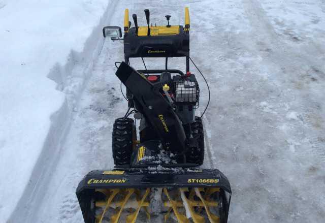 Снегоуборщик Champion ST1086BS