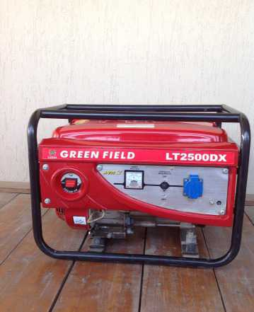 Бензиновый генератор Green Field LT2500DX