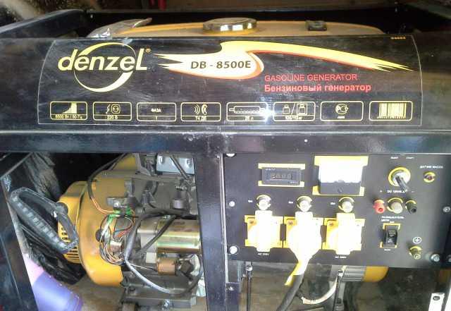 Генератор бензиновый Denzel DB8500E
