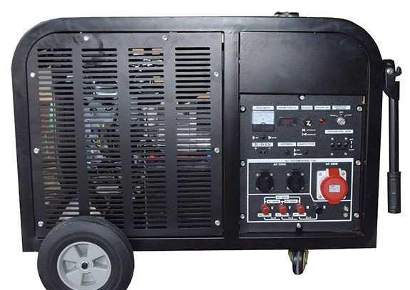 3хфазный бензогенератор 11 кВт Лифан S-PRO 11000-3