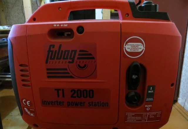 Инверторная электростанция Fubag TI 2000