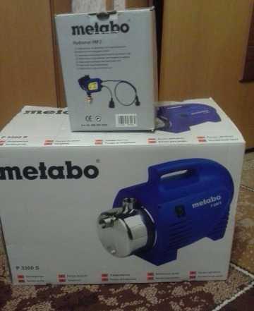 Автоматический насос Metabo