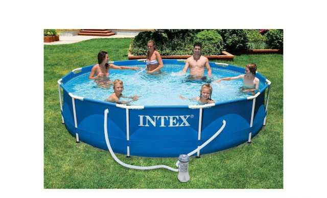 Каркасный бассейн Intex 366x76