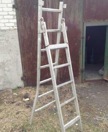 Продам лестницу стремянку