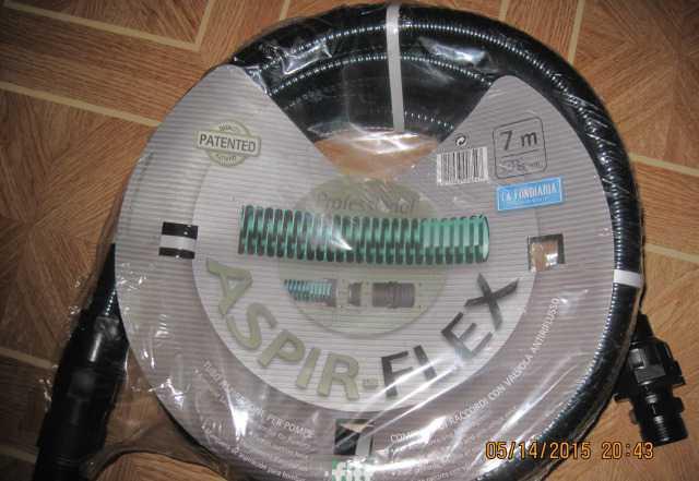 Шланг всасывающий aspir - флекс 25 мм 7м Италия