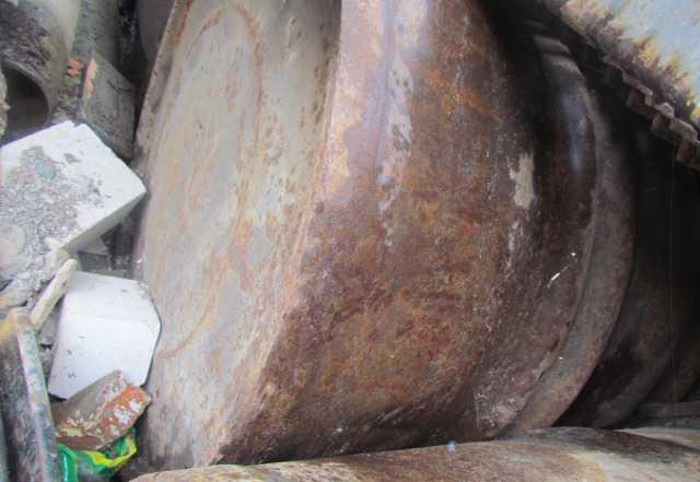 Бочки металлические для воды или сжигания мусора