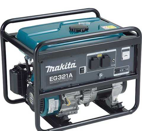 Бензогенератор Makita EG 321 A (EG321A)