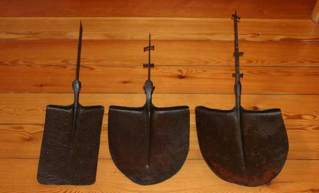 Лопата кованная начала 20 века. Финляндия