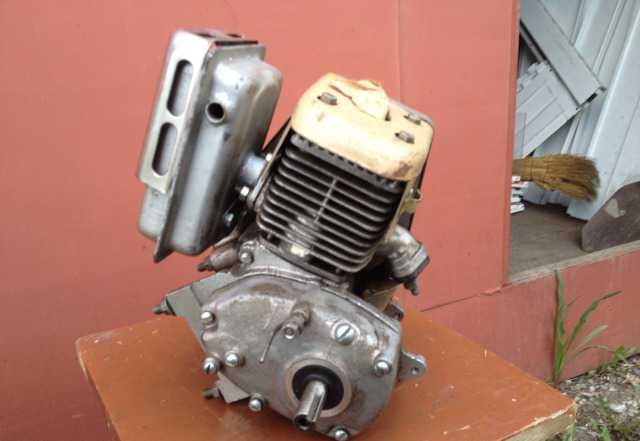 Мотор от мотокультиватора крот. Новый