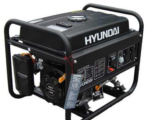 Бензиновый генератор Хендэ HHY3000F