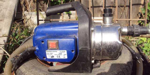 Насос садовый Garden pump JGP60021NOX