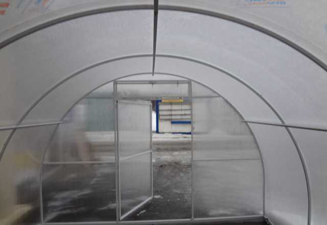 Арочные теплицы 6м с поликарбонатом 4мм