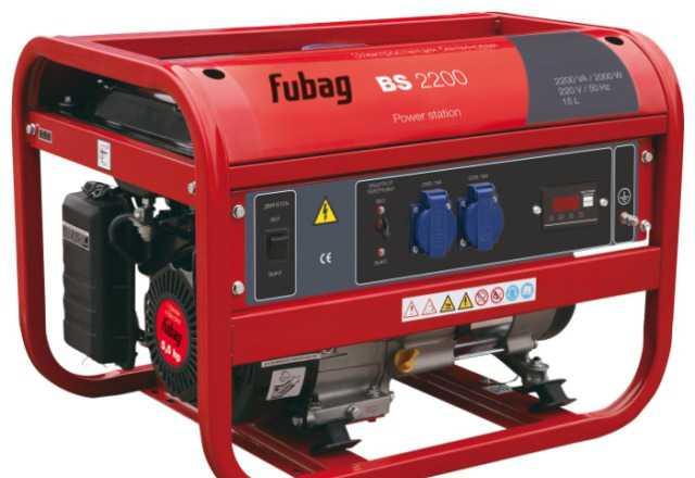 Бензоэлектростанция генератор Fubag BS 2200 -2.5кв