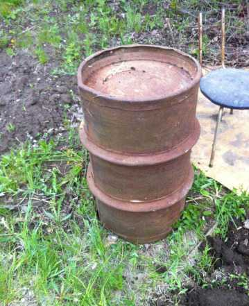 Бочка металлическая 200 литров