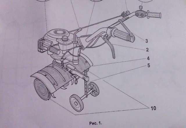 Культиватор Sungarden T240S