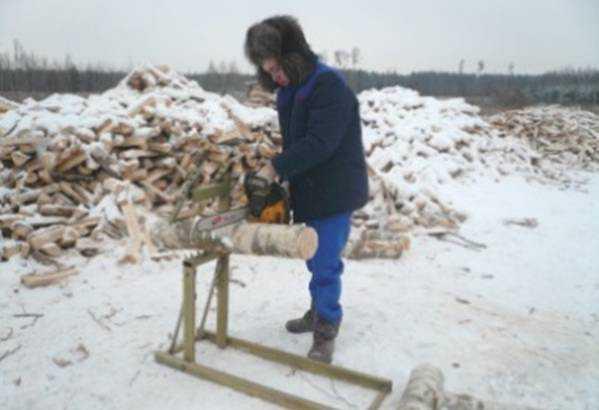 Козлы для пилки дров профи
