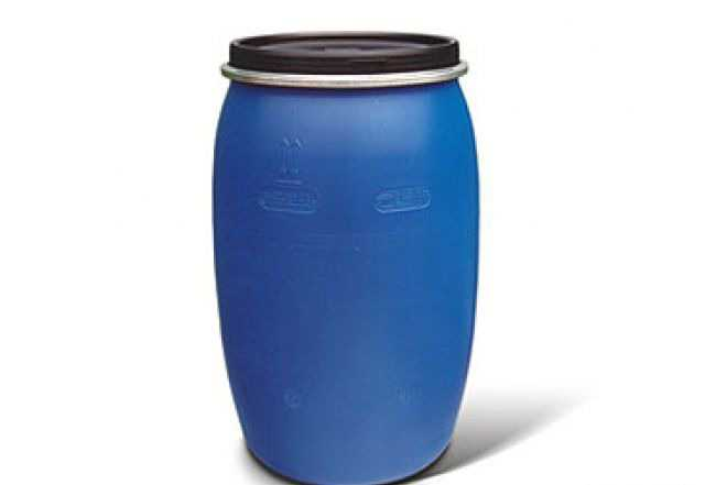 Бочки синие пластиковые