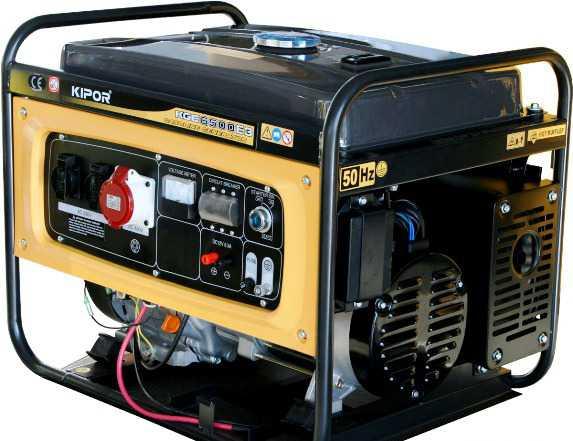 Продам генератор 6.5 вт 3 фазы kipor kge6500x3/e3
