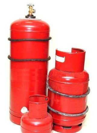Газовые баллоны 50л и 27л и 2.5л б/у
