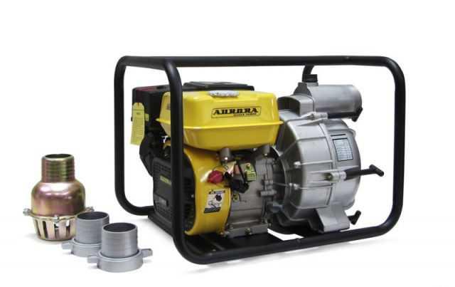 Мотопомпа для грязной воды Аврора амр 80 D