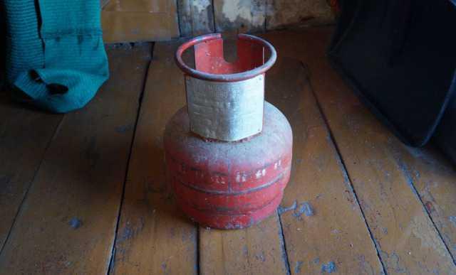 5-литровые газовые баллоны
