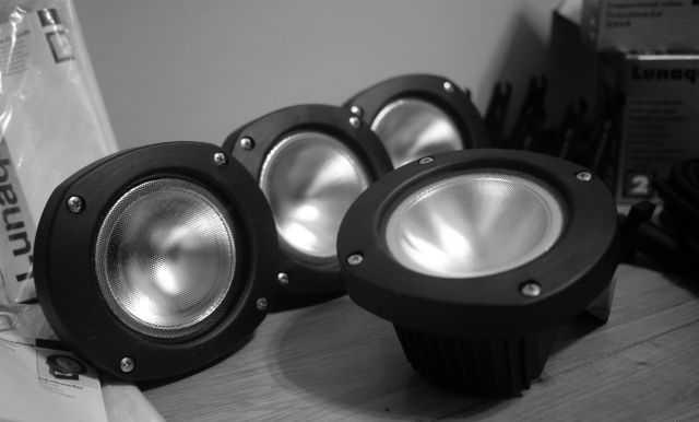 Подводные светильники и трансформатор Lunaqua 10