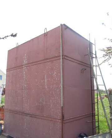 Срочно продам ёмкость металлическую 16 куб