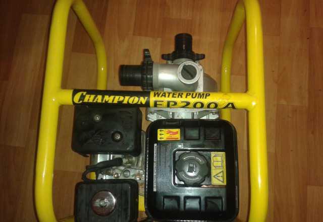 Мотопомпа champion FP200amotd