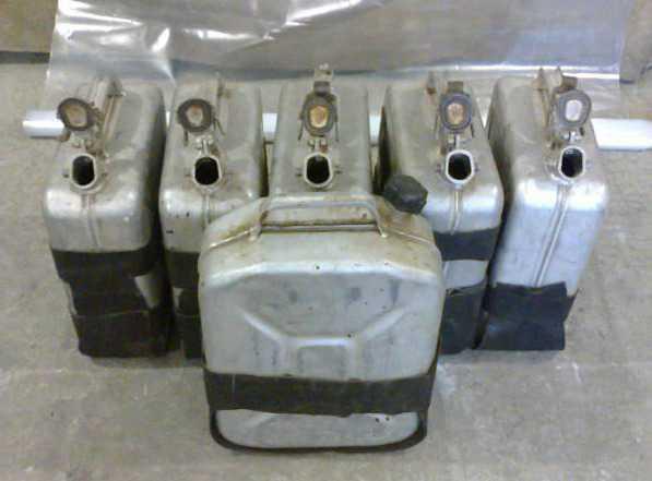 Продам алюминевые канистры