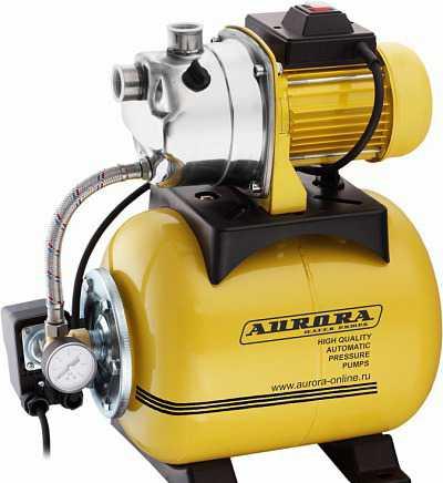 Насосная станция для дачи аврора AGP 600-20 inox