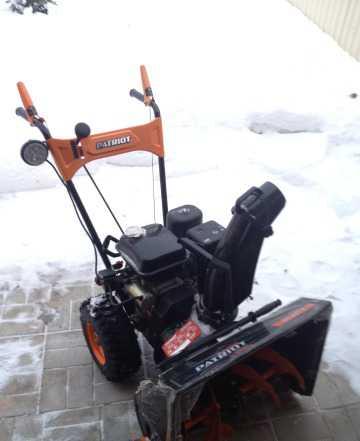 Снегоуборочник патриот PS 631 E