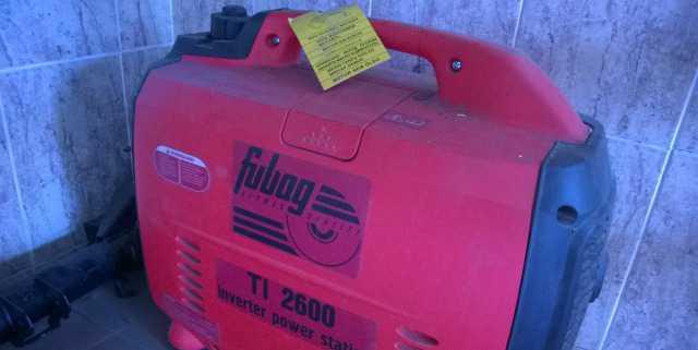 Продам генератор Fubag 2600