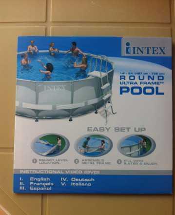 Металлический каркас к бассейну