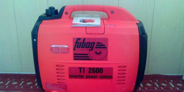 Продается бензиновый генератор fubag TI 2600