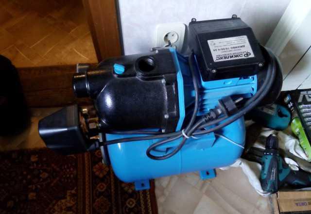 Насос-автомат для подачи воды в дом, дачу, новый
