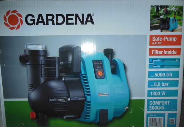 Садовый насос gardena