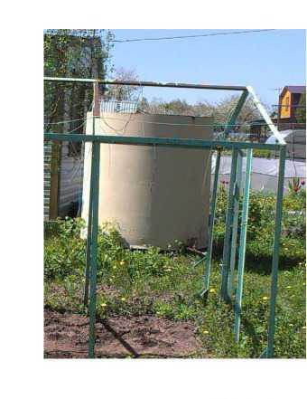 Садовый бак для полива