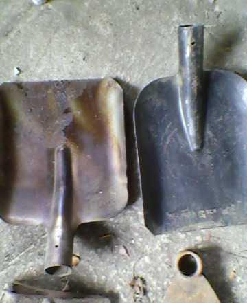 Совковая лопата без черенка Зубр