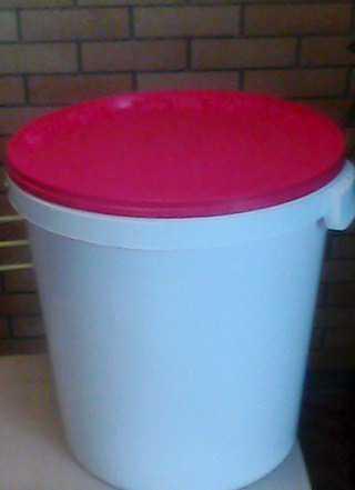 Ведро пластиковое 30л с крышкой
