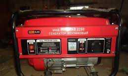 Бензогенератор eneral 6-6.5кВт / (на сутки)