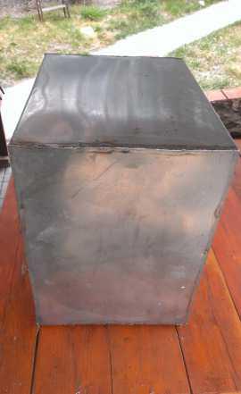 Бак из толстой нержавейки для воды или топлива