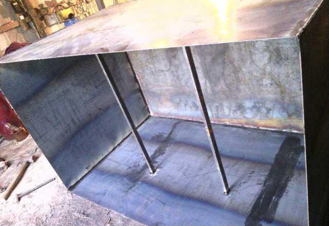 Баки ёмкостя больших размеров металл 3-5мм