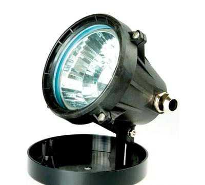 Подводный галогенный светильник пластик, 100 Вт