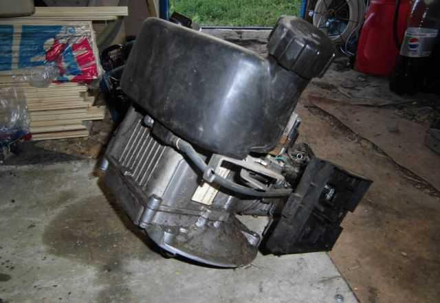 Двигатель от 4-х колесной газонокосилки