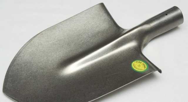 Лопата титановая штампованная
